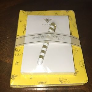 Busy Bee notepad and pen